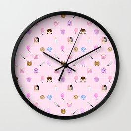 CRY BABY EMOJIS Wall Clock