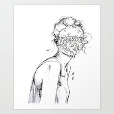 6 pieces_5 Art Print