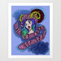 love winter :P Art Print