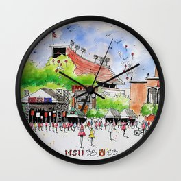 ESPN Game Day 2014 Wall Clock