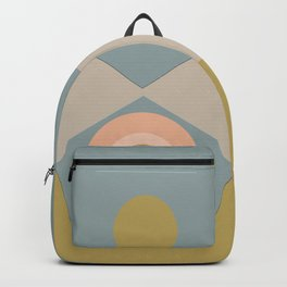 Abstract-geometric 01 Backpack