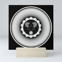 Art Nouveau Flower Mini Art Print