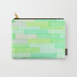 Brickwork Green Carry-All Pouch