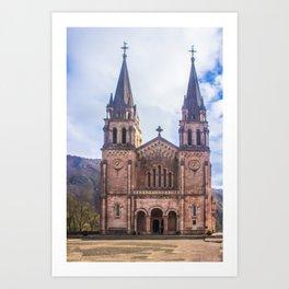 Basilica of Santa Maria Art Print