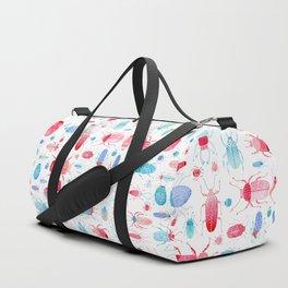 Watercolor Beetles Duffle Bag