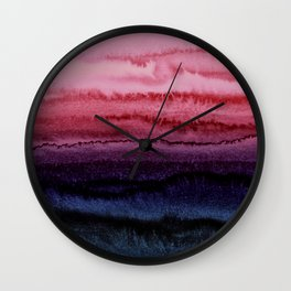 WITHIN THE TIDES JEWEL RED by Monika Strigel Wall Clock
