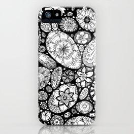 Stone doodle iPhone Case