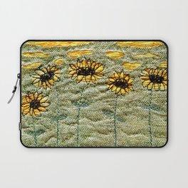 Sunflower fields forever Laptop Sleeve