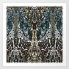 Forest lace Art Print