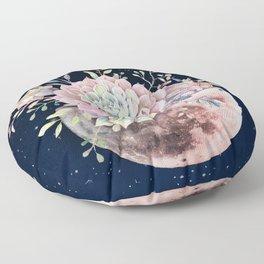succulent night light Floor Pillow