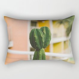 Palm Springs Cactus Rectangular Pillow
