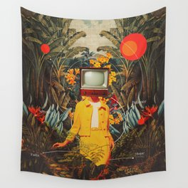 She Came from the Wilderness Wall Tapestry