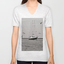 Hanse SAIL - Warnemuende - Baltic Sea  Unisex V-Neck