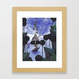 Abstracts of Desire Framed Art Print