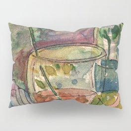 Flowers and paints.. Pillow Sham