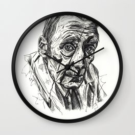 Naked Lunch Wall Clock