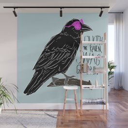 Quoth the Raven Wall Mural