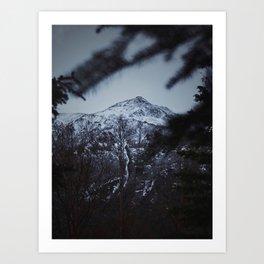 Eagle River Trail Art Print