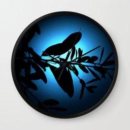 Lost in Blue Moonlight Wall Clock
