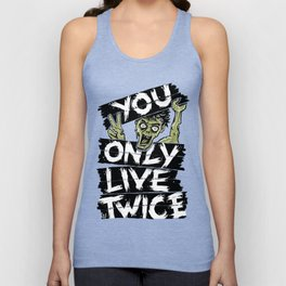 You Only Live Twice Unisex Tank Top
