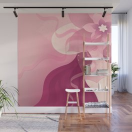 Mysterious Lady Wall Mural