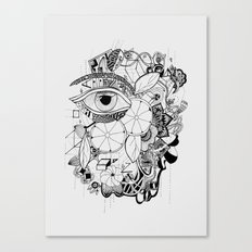 Volví al jardín Canvas Print