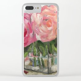 Pink as Pink Can Be Clear iPhone Case