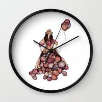 ballon Wall Clocks featuring Le Ballon // Birthday by annabours