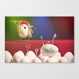 Egg Rock Concert Canvas Print