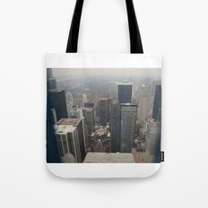 Skyline in Perspective Tote Bag