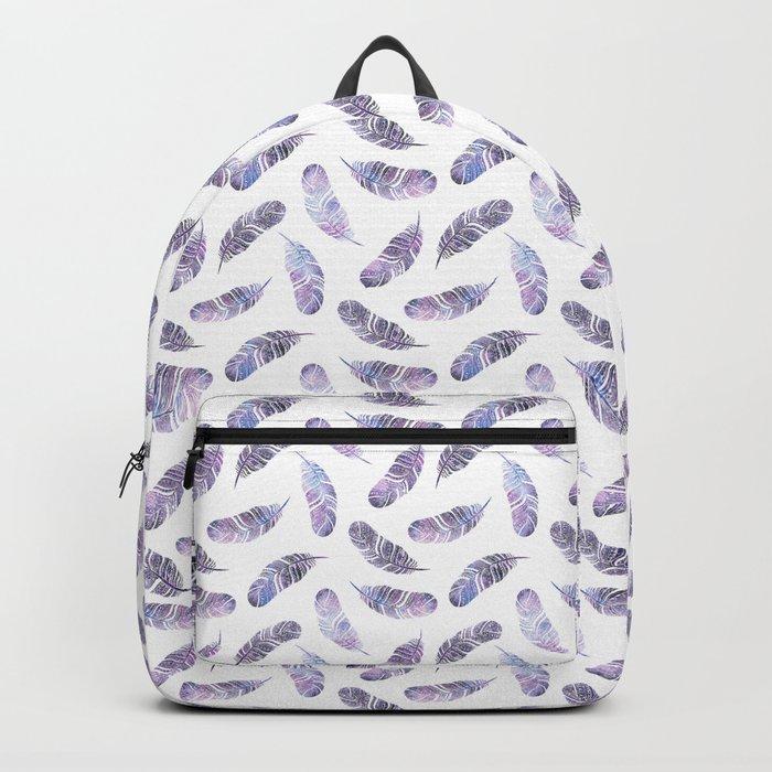Ethnic feathers Backpack