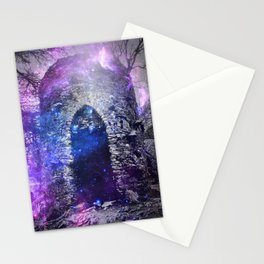 Galaxy Castle Stationery Cards