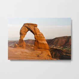 Delicate Arch - Arches National Park Metal Print