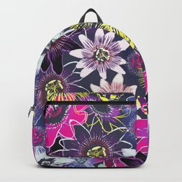 Passion Flower Bright Backpack