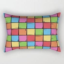 Color Boxes Rectangular Pillow
