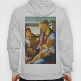 Botticelli  -  Virgin And Child With An Angel Hoody