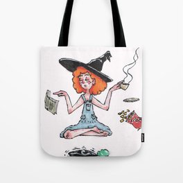 Witchy Multitasking Tote Bag