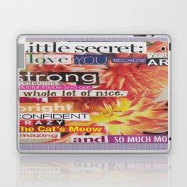 Collage - Little Secret Laptop & iPad Skin