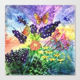 Bluebonnet Bouquet Canvas Print