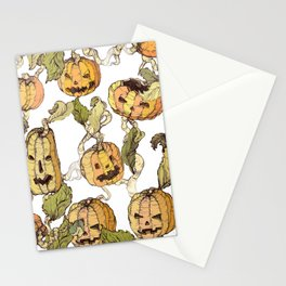 pumpkin soap Stationery Cards