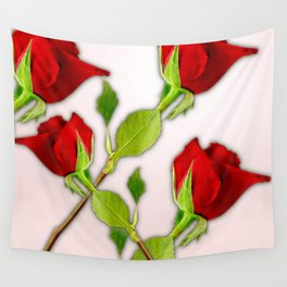 Red Rose For My Valentine Day Wall Tapestry