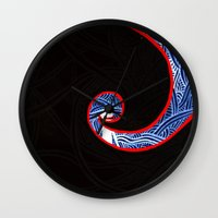 nightmare Wall Clocks featuring Nightmare by xzwillingex