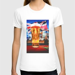 English Beer In A London Pub T-shirt
