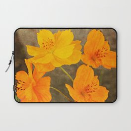 Bright Lights Cosmos Flowers Laptop Sleeve