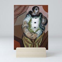 """Juan Gris """"Pierrot Aux Mains Jointes"""" Mini Art Print"""