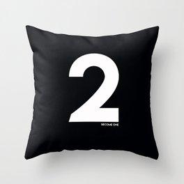 2 Become 1 Throw Pillow