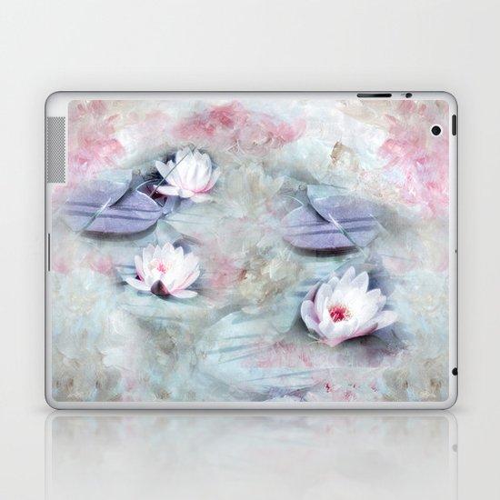 SUMMER LILY POND Laptop & iPad Skin