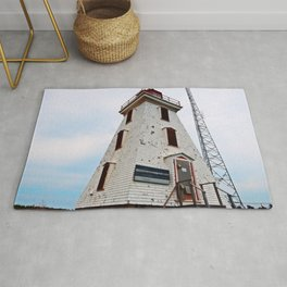 Cape Egmont Lighthouse and Radio Tower Rug