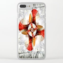 Volutes Clear iPhone Case