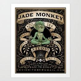 Jade Monkey Studio Art Print
